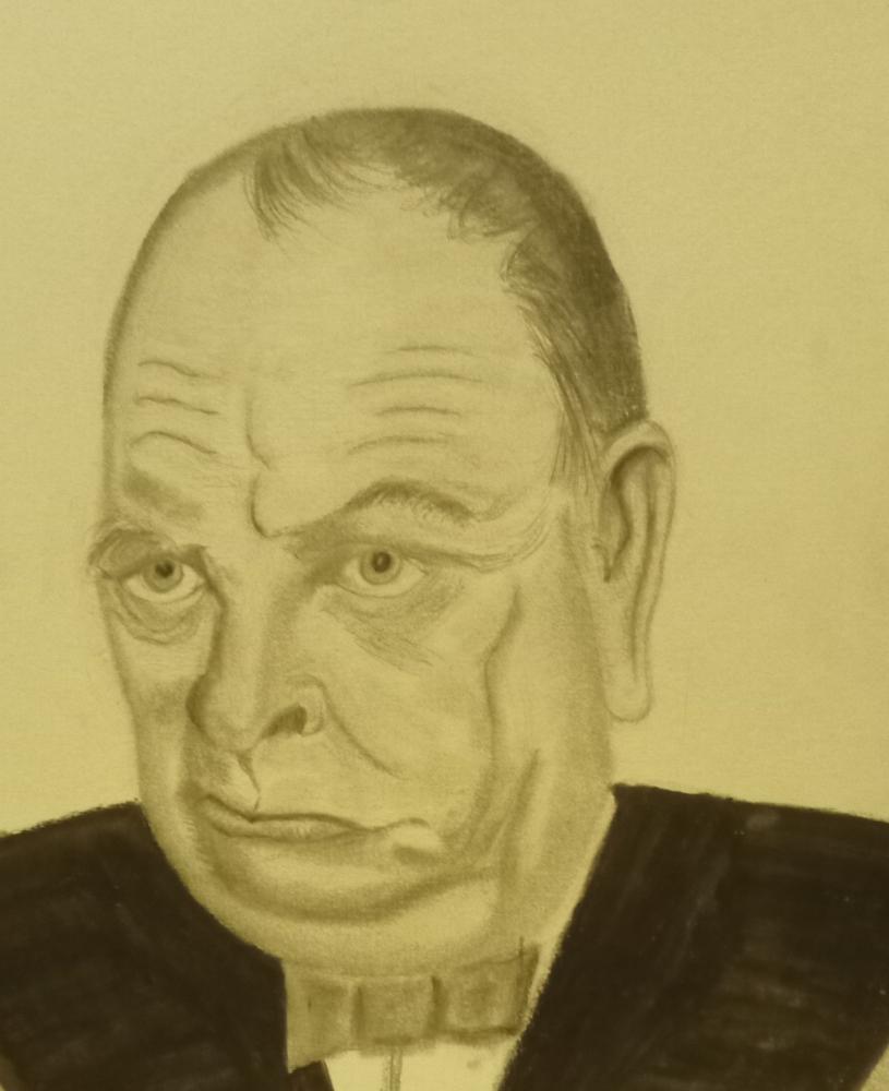 Winston Churchill por frank19